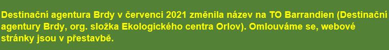 DESTINAČNÍ AGENTURA BRDY - RegionBrdy.cz